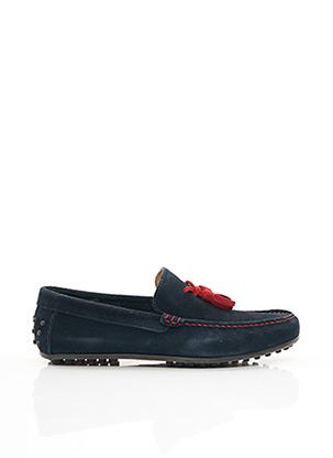 Chaussures bâteau bleu MARVIN&CO pour homme