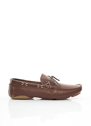 Chaussures bâteau marron MARVIN&CO pour homme