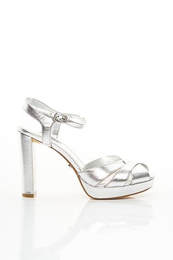 Sandales/Nu pieds gris DUNE LONDON pour femme