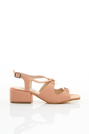 Sandales/Nu pieds orange ABOUT ARIANNE pour femme