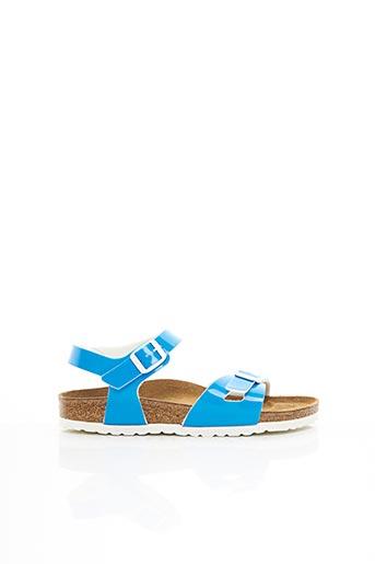 Sandales/Nu pieds bleu BIRKENSTOCK pour fille