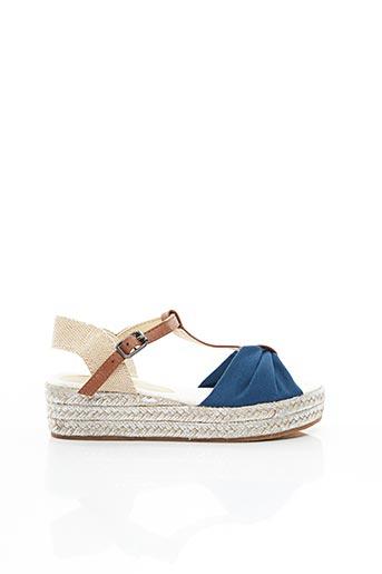 Sandales/Nu pieds bleu CONGUITOS pour fille