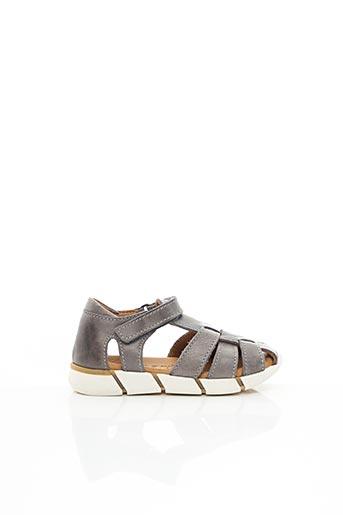 Sandales/Nu pieds gris BISGAARD pour garçon