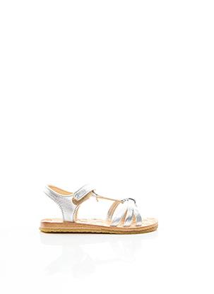 Sandales/Nu pieds gris EASY PEASY pour garçon