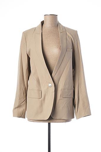 Veste chic / Blazer gris TEENFLO pour femme
