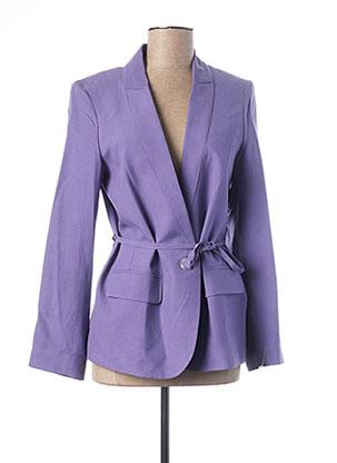 Veste chic / Blazer violet TEENFLO pour femme