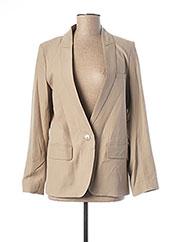 Veste chic / Blazer gris TEENFLO pour femme seconde vue