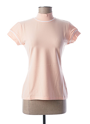 T-shirt manches courtes rose TEENFLO pour femme