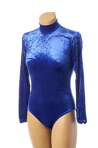 Body bleu TEENFLO pour femme