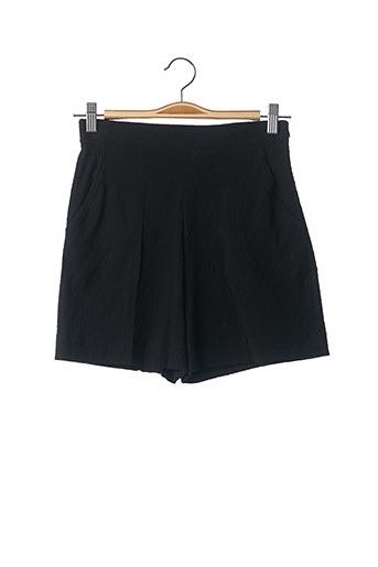 Short noir TEENFLO pour femme