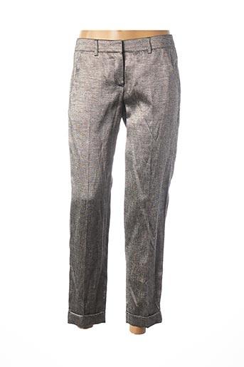 Pantalon chic gris TEENFLO pour femme