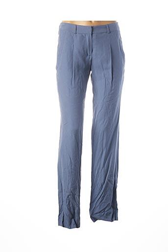 Pantalon chic bleu TEENFLO pour femme
