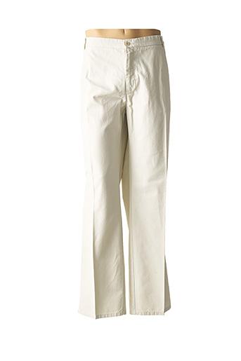 Pantalon casual beige COBALT pour homme