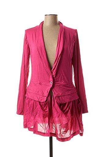Veste casual rose RHUM RAISIN pour femme