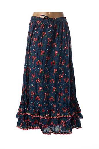Jupe longue bleu RHUM RAISIN pour femme