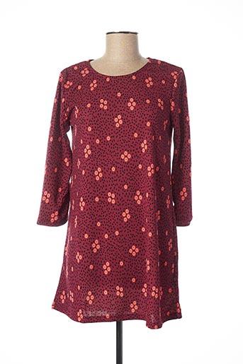 Robe courte rouge BLANCHEPORTE pour femme