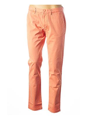Pantalon casual orange ARMANI pour homme
