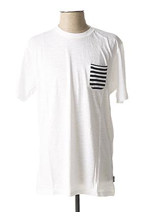 T-shirt manches courtes blanc SORBINO pour homme