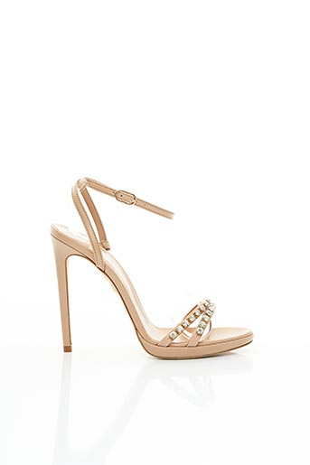 Sandales/Nu pieds beige TWINSET pour femme