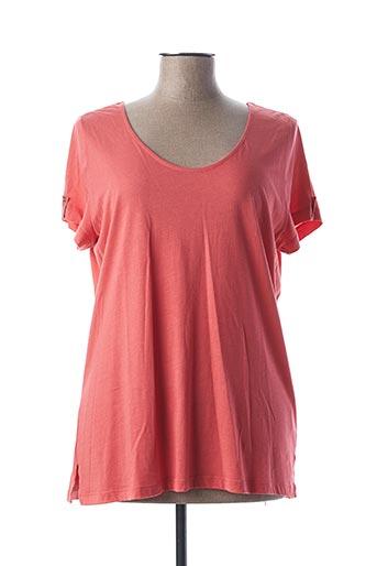 T-shirt manches courtes orange KATMAI pour femme