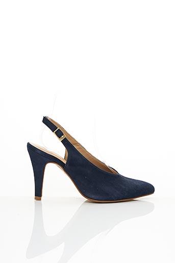 Escarpins bleu COR BY ANDY pour femme