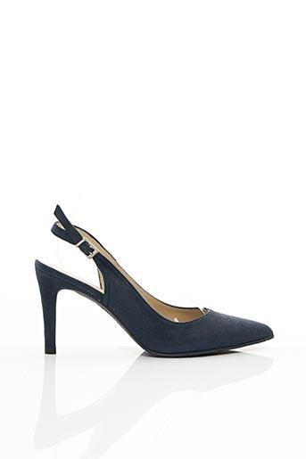 Escarpins bleu EMANUELLE CÔME pour femme