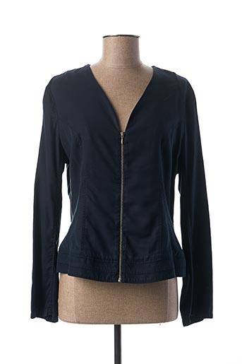 Veste casual bleu PAUSE CAFE pour femme