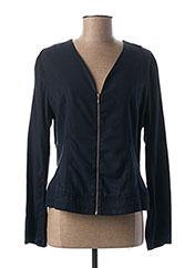 Veste casual bleu PAUSE CAFE pour femme seconde vue