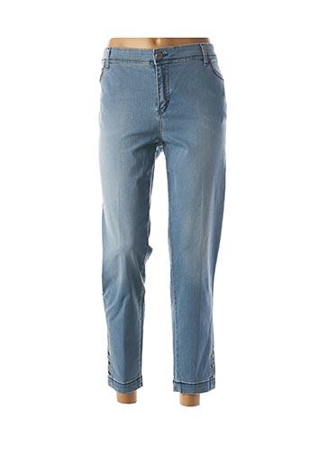 Jeans coupe slim bleu COWEST pour femme