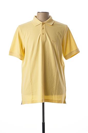 Polo manches courtes jaune MISE AU GREEN pour homme