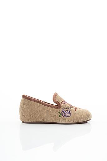 Chaussons/Pantoufles beige SWEDI pour enfant