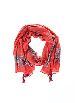 Foulard rouge PEPE JEANS pour femme