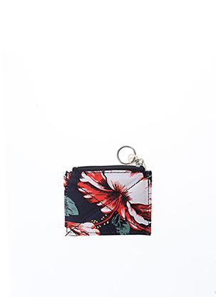 Porte-monnaie rouge FAGUO pour femme