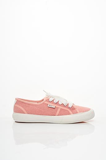 Baskets rose PEPE JEANS pour fille