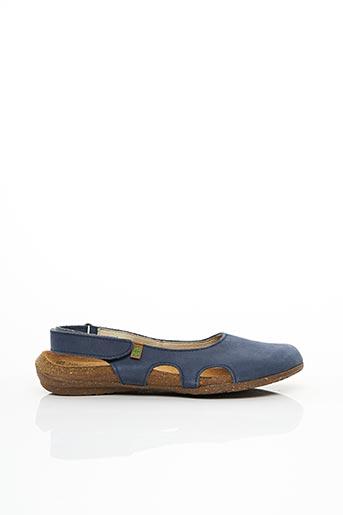 Sandales/Nu pieds bleu EL NATURALISTA pour femme