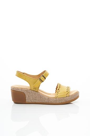 Sandales/Nu pieds jaune EL NATURALISTA pour femme