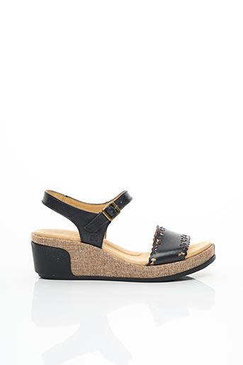Sandales/Nu pieds noir EL NATURALISTA pour femme