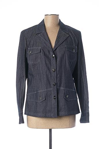 Veste en jean bleu KARTING pour femme
