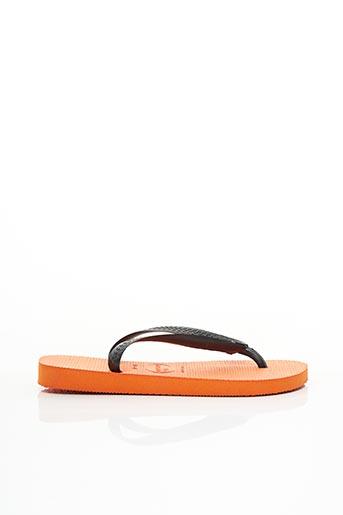 Tongs orange HAVAIANAS pour garçon