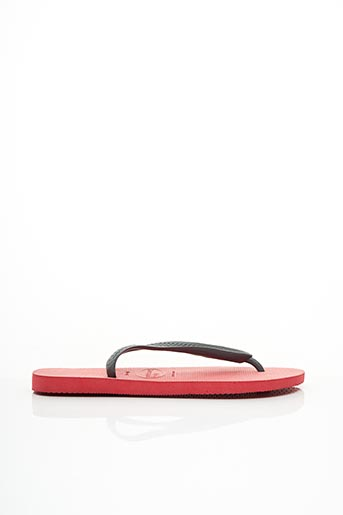Tongs rouge HAVAIANAS pour homme