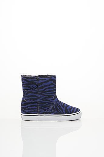 Bottines/Boots violet VANS pour fille