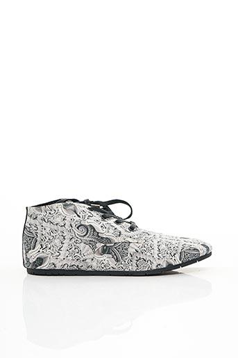Baskets gris ELEVEN PARIS pour femme