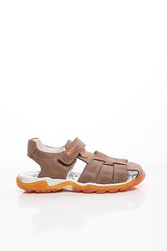 Sandales/Nu pieds marron BOPY pour garçon