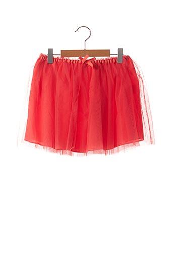 Jupe mi-longue orange MARESE pour fille
