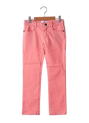 Pantalon casual rose MARESE pour fille