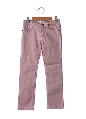Pantalon casual violet MARESE pour fille