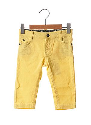 Pantalon casual jaune MARESE pour garçon