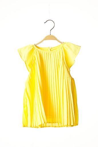 Blouse manches courtes jaune MARESE pour fille