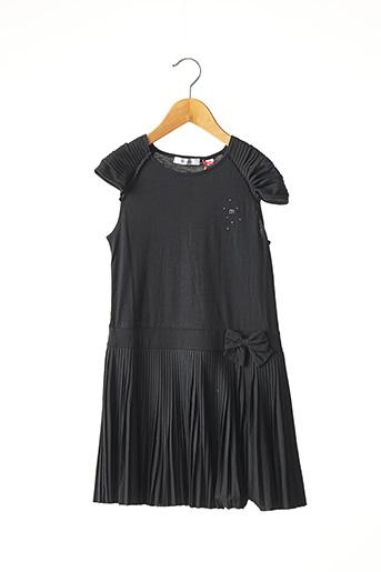 Robe mi-longue noir MARESE pour fille