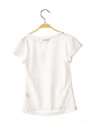 T-shirt manches courtes blanc MARESE pour fille seconde vue